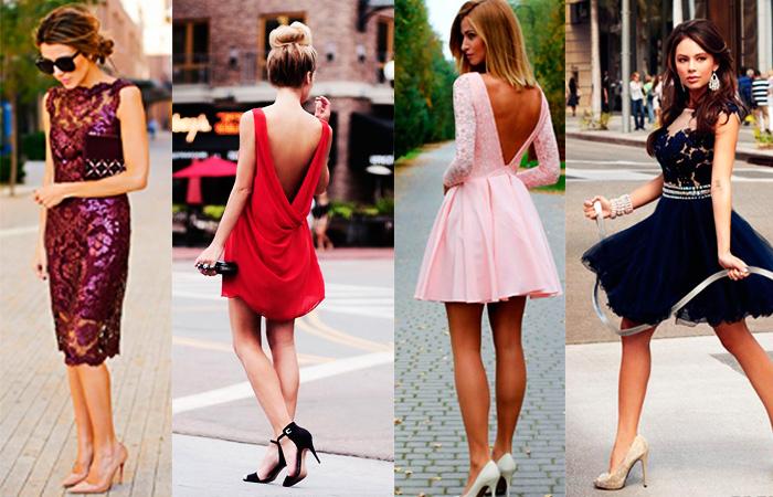 zapatos con vestido corto