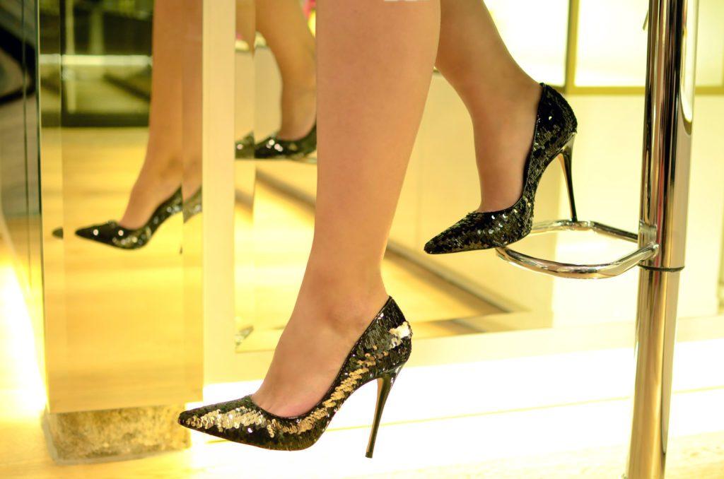 zapatos para brillar en nochevieja-Trocadero Shoes